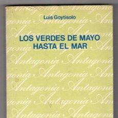 Libros de segunda mano: LOS VERDES DE MAYO HASTA EL MAR POR LUIS GOYTISOLO. BIBLIOTECA BREVE Nº 399. ED. SEIX BARRAL 1ª ED.. Lote 17993967