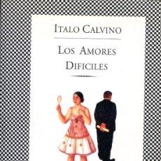 Libros de segunda mano: LOS AMORES DIFICILES. Lote 26810760