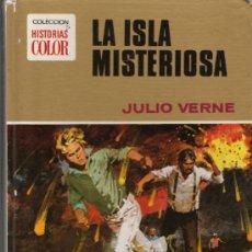 Libros de segunda mano: COLECCION HISTORIAS COLOR LA ISLA MISTERIOSA JULIO VERNE . Lote 18485226