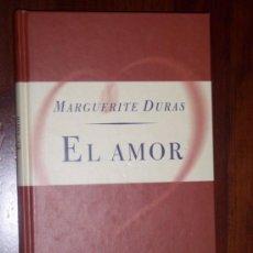 Libros de segunda mano: EL AMOR POR MARGUERITE DURAS DE ORBIS FABBRI EN MADRID 1997. Lote 19258957