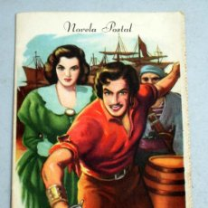 Libros de segunda mano: NOVELA POSTAL EL AGUILA NEGRA EDITH WARNER Nº 4 1ª SERIE AÑOS 50. Lote 19401502