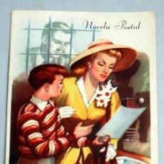 Libros de segunda mano: NOVELA POSTAL VEINTICUATRO HORAS ANTES WENCES GRIBLE Nº 8 1ª SERIE AÑOS 50. Lote 19401666