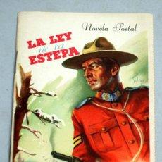 Libros de segunda mano: NOVELA POSTAL LA LEY DE LA ESTEPA R GRIDLEY Nº 9 1ª SERIE AÑOS 50. Lote 19401703