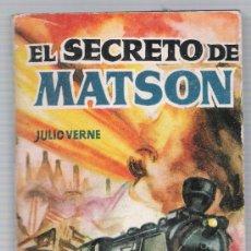 Libros de segunda mano: ENCICLOPEDIA PULGA Nº 86. EL SECRETO DE MATSON POR JULIO VERNE. (384 PÁGINAS) EDIT CLIPER.. Lote 19582593