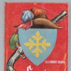 Libros de segunda mano: ENCICLOPEDIA PULGA Nº 7. LOS TRES MOSQUETEROS 1ª PARTE POR A.DUMAS. (384 PÁGINAS) EDIT CLIPER.. Lote 19584593