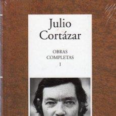 Libros de segunda mano: OBRAS COMPLETAS I. JULIO CORTAZAR. RBA INSTITUTO CERVANTES. PLASTIFICADO.. Lote 20332957