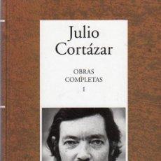 Libros de segunda mano: OBRAS COMPLETAS I. JULIO CORTAZAR. RBA INSTITUTO CERVANTES.. Lote 20333068