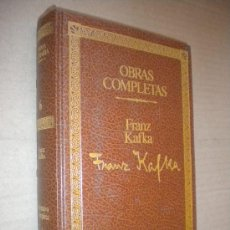 Libros de segunda mano: NARRATIVA COMPLETA I: EL PROCESO / FRANZ KAFKA. Lote 22183126