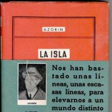 Libros de segunda mano: LA ISLA SIN AURORA, AZORIN, 1ª EDICIÓN, ENVIO GRATIS. Lote 21199424