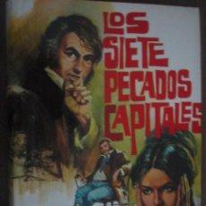 Libros de segunda mano: LOS SIETE PECADOS CAPITALES (2 VOLÚMENES). SUE, EUGENIO. 1974. PETRONIO. Lote 21496035