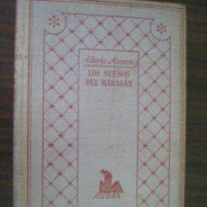 Libros de segunda mano: LOS SUEÑOS DEL HARAGÁN. MORAVIA, ALBERTO. 1967. . Lote 21706805