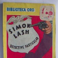 Libros de segunda mano - LIBRO EDITORIAL MOLINO COLECCION BIBLIOTECA ORO Nº 213 DETECTIVE PARTICULAR 1947 - 25825635
