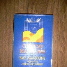 Libros de segunda mano: CRONICAS MARCIANAS RAY BRADBURY. Lote 27545801