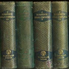 Libros de segunda mano: AGUILAR - BENAVENTE - OBRAS COMPLETAS. Lote 27054791
