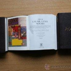 Libros de segunda mano: LIBRO DE LAS MIL Y UNA NOCHES. Lote 23866991
