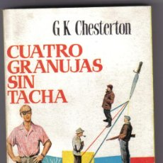 Libros de segunda mano: CUATRO GRANUJAS SIN TACHA. G.K. CHESTERTON. LITERACOMIC.. Lote 26804403