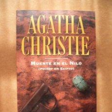 Libros de segunda mano: AGATHA CRISTIE - MUERTE EN EL NILO(POIROT EN EGIPTO), .PLANETA DEAGOSTINI Nº 2.. Lote 25571436