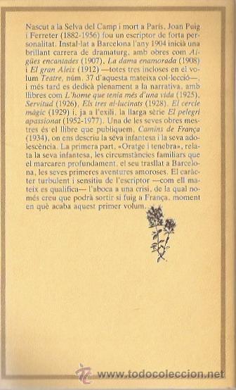 Libros de segunda mano: Camins de França de Joan Puig Ferrater (2 volumenes) - Foto 2 - 27097340
