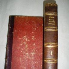 Libros de segunda mano: MARGARITA DE BORGOÑA (MISTERIOS DE LA TORRE DE NESLE) D. RAMÓN DE LUNA 1865 RM50488-V. Lote 27411111