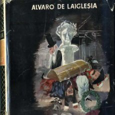 Libros de segunda mano: ÁLVARO DE LAIGLESIA : EL BAÚL DE LOS CADÁVERES (1954) PRIMERA EDICIÓN. Lote 51002532