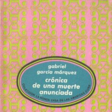 Libros de segunda mano: CRÓNICA DE UNA MUERTE ANUNCIADA GABRIEL GARCÍA MÁRQUEZ LA HONDA CASA DE LAS AMÉRICAS CUBA. Lote 26387078