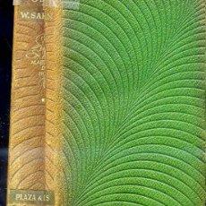 Libros de segunda mano: OBRAS DE WILLIAM SAROYAN -PLENA PIEL. Lote 26679561