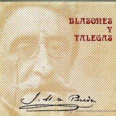Libros de segunda mano: J. M. DE PEREDA : BLASONES Y TALEGAS -EDICIÓN ILUSTRADA. Lote 28101596