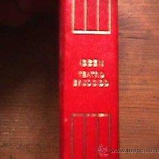 Libros de segunda mano: TEATRO ESCOGIDO, H. IBSEN, AGUILAR, CRISOL Nº 74, 6ª EDICION, 3ª REIMPRESION, 1987, 2000 EJEMP.. Lote 28131432