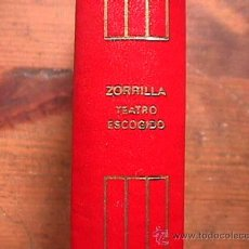 Libros de segunda mano: TEATRO ESCOGIDO, JOSE ZORRILLA, AGUILAR, CRISOL Nº 40, 7ª EDICION, 3ª REIMPRESION, 1987. Lote 28168558