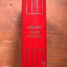 Libros de segunda mano: TEATRO ESCOGIDO, MOLIERE, AGUILAR, CRISOL Nº 14, 7ª EDICION, 3ª REIMPRESION, 1987. Lote 28177362