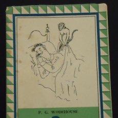 Libros de segunda mano: DINERO MOLESTO. P. G. WODEHOUSE. AL MONIGOTE DE PAPEL, 1944. 254 PÁGINAS.. Lote 28375117