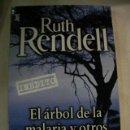 Libros de segunda mano: EL ARBOL DE LA MALARIA Y OTROS RELATOS DE RUTH RENDELL. Lote 168325441