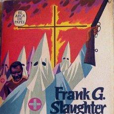 Libros de segunda mano: NOVELA TEMPESTAD DE PASIONES-FRANK G. SLAUGHTER-EDITORIAL EL ARCA DE PAPEL-440 PÁGINAS AÑO 1977. Lote 28671971