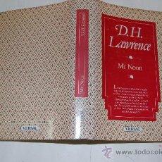 Libros de segunda mano: MR. NOON. D. H. LAWRENCE. RM31853. Lote 28845995
