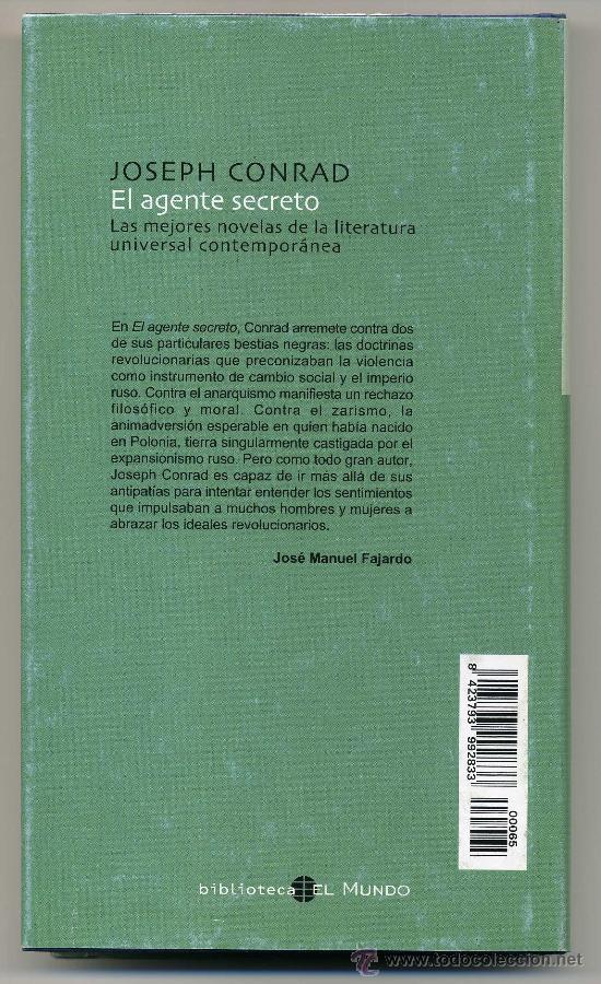 Libros de segunda mano: EL AGENTE SECRETO - JOSEPH CONRAD - Foto 2 - 28876644