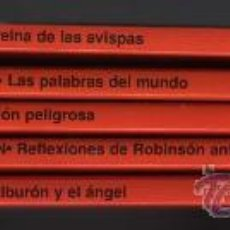 Libros de segunda mano: COLECCIÓN DIEZ MINUTOS - ESCRITORES ESPAÑOLES DE HOY - LOTE DE 5 LIBROS.. Lote 28979689