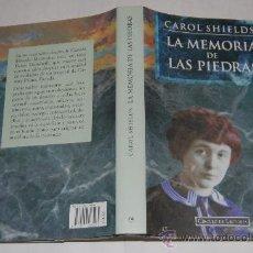 Libros de segunda mano: LA MEMORIA DE LAS PIEDRAS.CAROL SHIELDS .RM34168. Lote 29023618