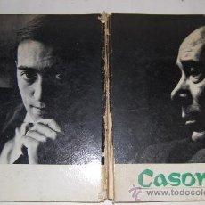 Libros de segunda mano: ALEJANDRO CASONA. (JUEGO BIOGRÁFICO DIVIDIDO EN UNA RAÍZ Y TRES ÁRBOLES).JUAN JOSÉ PLANS. RM54960. Lote 29109214