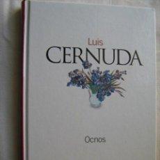Libros de segunda mano: OCNOS. CERNUDA, LUIS. 2003. Lote 29346624