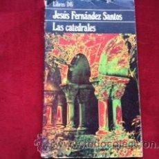 Libros de segunda mano: LAS CATEDRALES - JESUS FERNANDEZ SANTOS. ARGOS VEGARA 1979. Lote 29335780