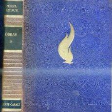 Libros de segunda mano: PEARL S. BUCK : OBRAS I - PLENA PIEL. ILUSTRADO.. Lote 29467155