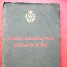 Livres d'occasion: COCHYLIS, EUDEMIS PIRAL Y ALTISA DE LA VID - 1912. Lote 29525717