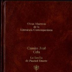Libros de segunda mano: CAMILO JOSÉ CELA - LA FAMILIA DE PASCUAL DUARTE - OBRAS MAESTRAS LIT. CONT. Nº 2 - SEIX BARRAL -1983. Lote 29819052