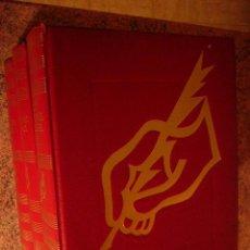 Libros de segunda mano: LOS ESCRITORES CELEBRES. ED. GUSTAVO GILI, 1967. 3 TOMOS. COMPLETA. 22 X 29 CM. Lote 29863072