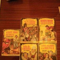 Libros de segunda mano: EDITORIAL BRUGUERA. COLECCIÓN HISTORIAS. VARIOS TÍTULOS. . Lote 29889532