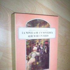 Libros de segunda mano: ARMANDO PALACIO VALDES / LA NOVELA DE UN NOVELISTA Y ALBUM DE UN VIEJO / GEA. Lote 29989978
