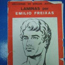 Libros de segunda mano: LECCIONES DE DIBUJO ARTISTICO POR EMILIO FREIXAS 1964. Lote 30324440