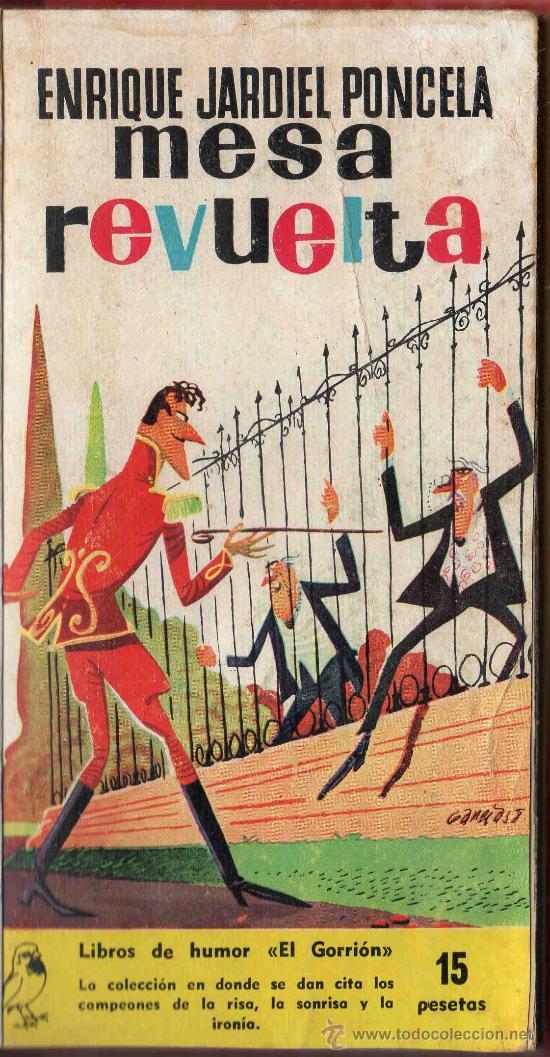 Mesa revuelta enrique jardiel poncela libros comprar en todocoleccion 30400793 - Libreria segunda mano online ...