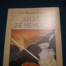 Libros de segunda mano: SEGLES DE MEMÒRIA - LIBRO EN CATALÀ DE JULI MINOVES TRIQUELL - GOVERN D'ANDORRA 1ª EDICION 1989. Lote 30614462