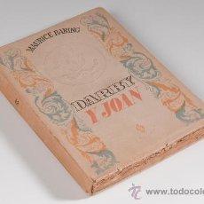 Libros de segunda mano: LIBRO DARBY Y JOAN POR MAURICE BARING, PRIMERA EDICIÓN, AÑO 1942. Lote 30675775